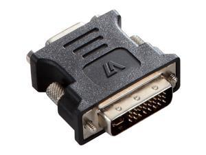 V7 Black Video Adapter Dvi-I Male To Vga Female