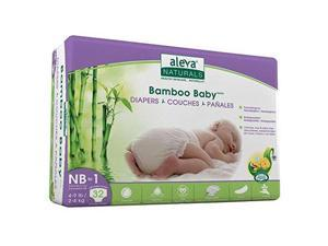 BAMBOO BABY DIAPERS SIZE NB