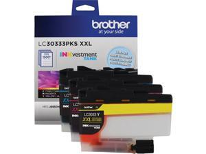 Brother LC30333PKS Super High Yield Ink Cartridge - Combo Pack - Cyan/Magenta/Yellow
