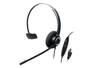 ADDASOUND CRYSTAL-SR2831RG SINGLE EAR,ADVANCED NOISE CANCELLING USB