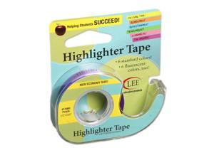 LEE PRODUCTS COMPANY (6 RL) REMOVABLE HIGHLIGHTER TAPE 13980BN