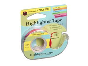 LEE PRODUCTS COMPANY (6 RL) REMOVABLE HIGHLIGHTER TAPE 13978BN