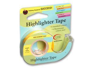 Lee Products Company LEE19975 Removable Fluorescent Yellow Highlighter Tape