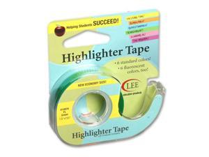 LEE PRODUCTS COMPANY (6 RL) REMOVABLE HIGHLIGHTER TAPE 19976BN