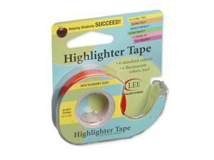 LEE PRODUCTS COMPANY (6 RL) REMOVABLE HIGHLIGHTER TAPE 13977BN