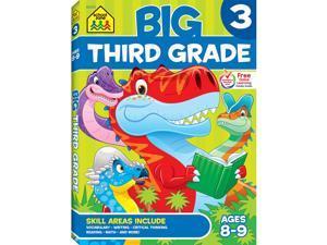 SCHOOL ZONE PUBLISHING BIG WORKBOOK THIRD GRADE 06314