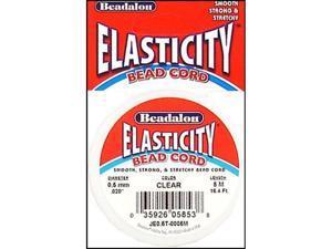 Elasticity 0.5mm Diameter 5 Meters/Pkg-Clear