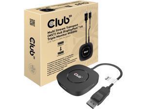 Club3D CSV-7300 Multi Stream Transport(MST) Hub DisplayPort 1.4 Triple Monitor