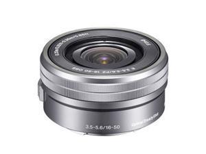 NEW Sony SELP1650 16-50mm Power f/3.5-5.6 Zoom Lens *Silver - Bulk