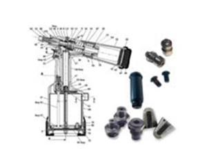 Bayfast, Tool Part RK50SP-1-1420 Mandrel for RK-50SP Tool; 1/4-20 (1 PK)