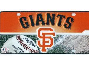 San Francisco Giants Metal License Plate