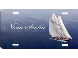 23368dcaf755fa Nova Scotia Boat Airbrush License Plate Free Names on this Air Brush