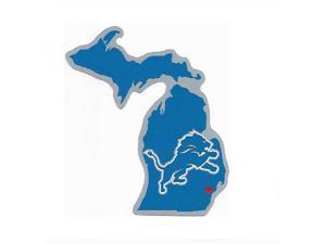 Detroit Lions Home State Vinyl Sticker