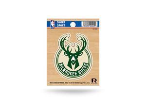 Milwaukee Bucks Short Sport Decal