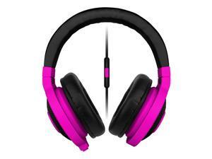 [HK Stock] Razer Kraken Mobile Analog Music and Gaming Headset 3.5mm with Mic - Neon Purple