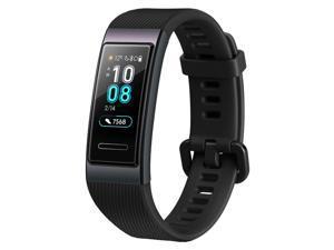 Huawei Band 3 Smart Bracelet 0.95 Inch AMOLED Screen Heart Rate Sleep Monitor 5ATM Waterproof Multi-sport Modes Black
