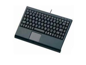 SolidTek KB-3910BL Black Mini Keyboard