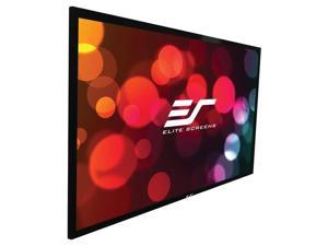 """Elite Screens SableFrame ER110WH2 Fixed Frame Projection Screen - 110"""" - 16:9 - Wall Mount"""
