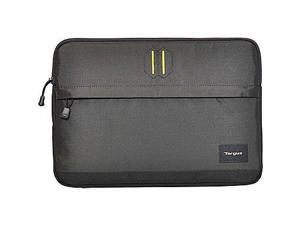 Targus Strata Sleek Travel Laptop Sleeve with Lightweight Durable Padding, fits for 13.3-Inch Laptop, Gray/Pewter (TSS62404US)