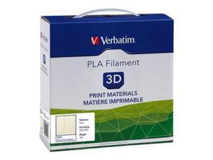 VERBATIM PLA 3D Filament 3mm 1kg Reel – Natural Transparent