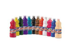 Prang Ready-to-Use Tempera Paint 12 Assorted Colors 16 oz 12/Pack 21696