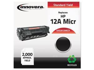 Innovera 2612MICR Q2612A(M) (12Am) Micr Toner, Black