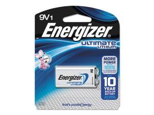 ENERGIZER-BATTERIES L522BP 1PK ULTIMATE LITHIUM 9V