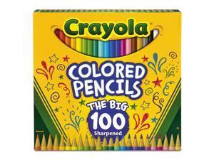Crayola Pencil,100/St,Color,Ast 688100