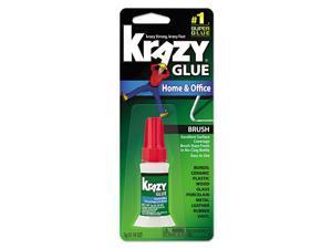 Krazy Glue KG94548R All Purpose Brush-On Krazy Glue, 5 G, Clear