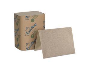 Dixie 32019 Interfold Napkin Refills 2-Ply, 6 1/2 Inch X 9 7/8 Inch , Brown, 6000/Carton