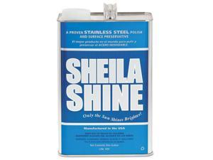 Sheila Shine Stainless Steel Cleaner & Polish 1 gal Can 4/Carton SSCA128