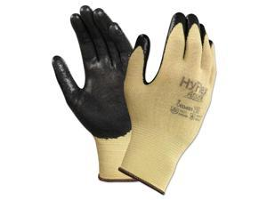 AnsellPro 103336 Hyflex Cr Gloves, Size 7, Yellow/Black, Kevlar/Nitrile, 24/Pack