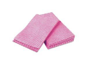 Cascades W900 Busboy Durable Foodservice Towels, Pink/White, 12 X 24, 200/Carton