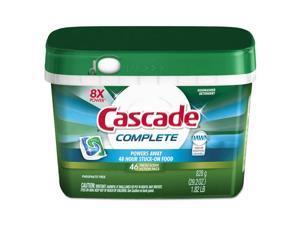 Cascade 98208 Actionpacs, Fresh Scent, 22.5 Oz Tub, 43/Tub, 6 Tubs/Carton