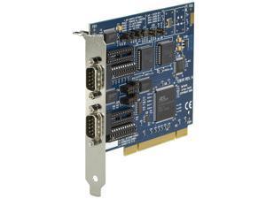 BLACK Ic133C-R2 Box 2 Port  16550 Uart Rs232 422 485 Pci Card