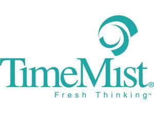 TimeMist 1044336EA Virtual Janitor Dispenser, 3 3/4W X 4 1/2D X 8 3/4H, White