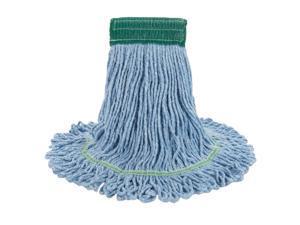 Boardwalk Super Loop Wet Mop Head Cotton/Synthetic Medium Size Blue 12/Carton