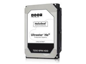 """HGST Ultrastar He12 0F30146 (HUH721212ALE604) 12TB 7200 RPM 256MB Cache SATA 6.0Gb/s 3.5"""" Hard Drives"""