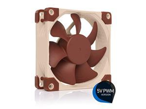 Noctua NF-A8 5V PWM, Premium Quiet Fan with USB Power Adaptor Cable, 4-Pin, 5V Version (80mm, Brown)