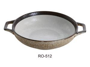 "Yanco RO-512 ROCKEYE 11.5"" X 8.75"" X 2.25"" Bowl With Handle 40 OZ"
