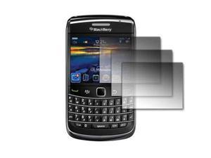3 Pack of Premium Crystal Clear Screen Protectors for Blackberry Bold 9700 [Accessory Export Packaging]