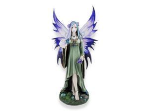 Anne Stokes `Mystic Aura` Fantasy Fairy Statue