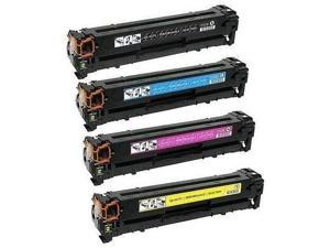 Lovetoner Compatible HP 131A Laser Toner Cartridge Set Black Cyan Yellow Magenta