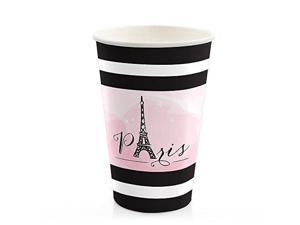 8 Count Baby Shower or Birthday Party Hot /& Cold Drinking Cups Big Dot of Happiness Flamingo Party Like a Pineapple