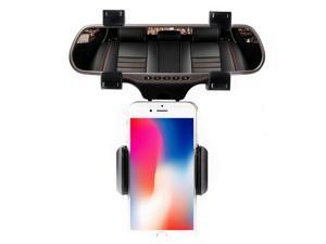 Silvery Magnetic Car Mount Air Vent Magnet Holder Cradle Stand Support for iPhone X,8,8,7,6,6S Plus 5S SE Samsung Galaxy S9,S8,S7 LG etc. I-Xtech Magnet Phone Holder for Car