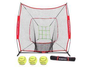 f978e7277 Rukket 6pc Softball Bundle | 7x7 Hitting Net | Batting, Pitching, Catching  Screen