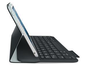 Logitech Wireless Ultrathin Keyboard Folio Case for iPad Mini 1, 2, 3- Carbon Black 920005893 [Non-Retail Packaging]