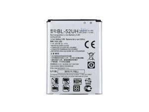 LG OEM Cell Phone Li-ion Battery 2100mAh 3.8V 8.0Wh BL-52UH New 1ICP6 / 47 / 59