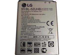 LG BL-52UHB Li-ion Battery 2100mAh 3.8V 8.0Wh EAC62798201 , Exceed 2 Verizon VS450PP, Optimus L70 , D320, D321