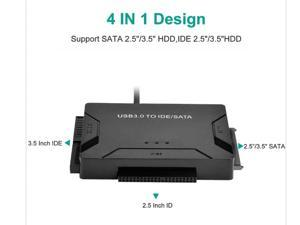 Speedex USB 3.0 to IDE & SATA Converter External Hard Drive Adapter Kit 2.5